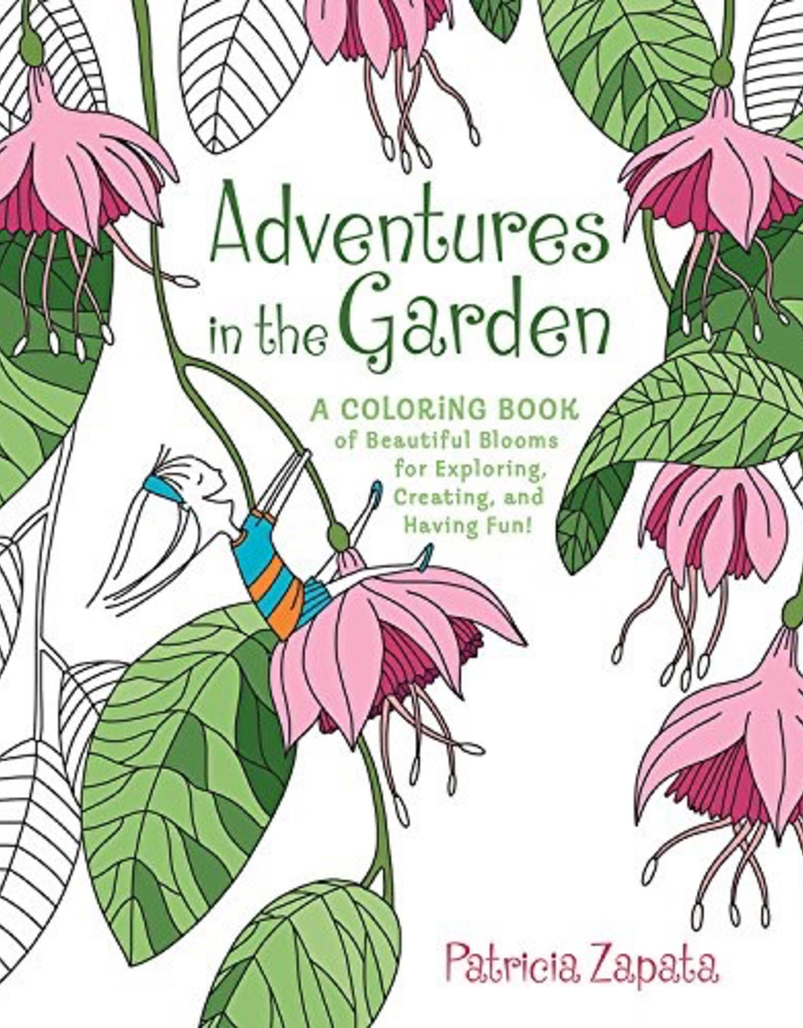 Adventures in the Garden Coloring Book