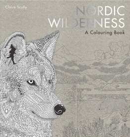 Nordic Wilderness Colouring Book