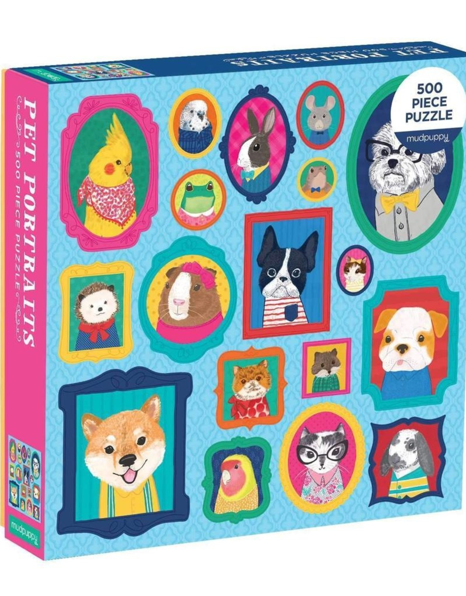 Pet Portraits Puzzle