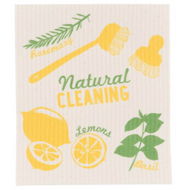 Natural Cleaning Swedish Dishcloth