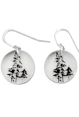 Round Forest Earrings