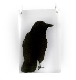 Tall Crow Pendant