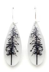 Long Drip Forest Earrings
