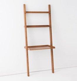 EQ3 Asterix 3 Ladder Desk Shelves-Walnut
