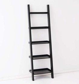 EQ3 Asterix 5 Ladder Shelves-Black