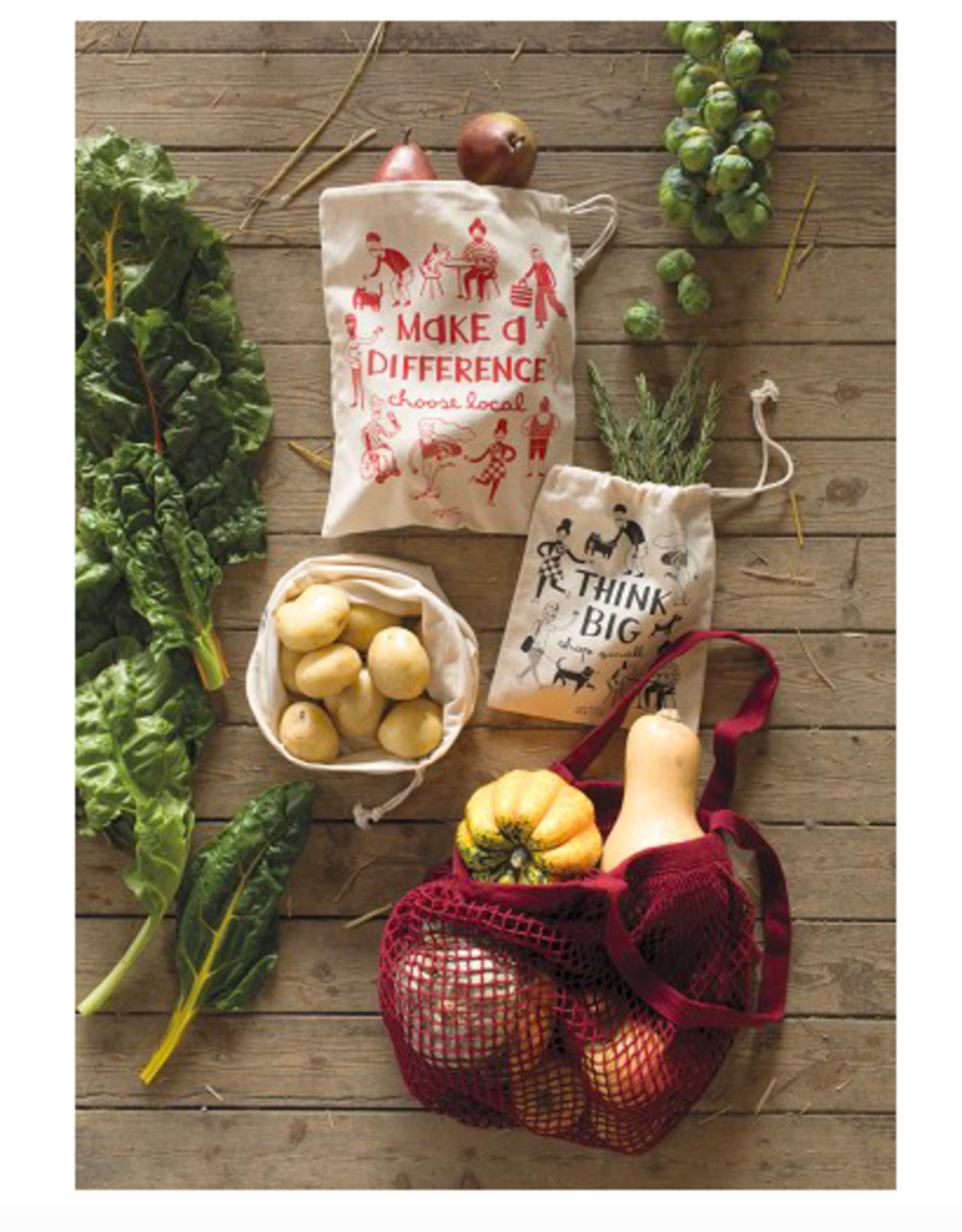 Think Big Shop Small Produce Set 3