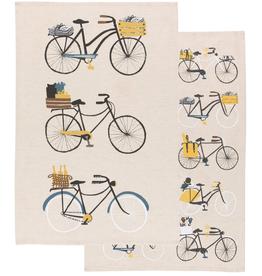 Bicicletta Tea Towel Set 2