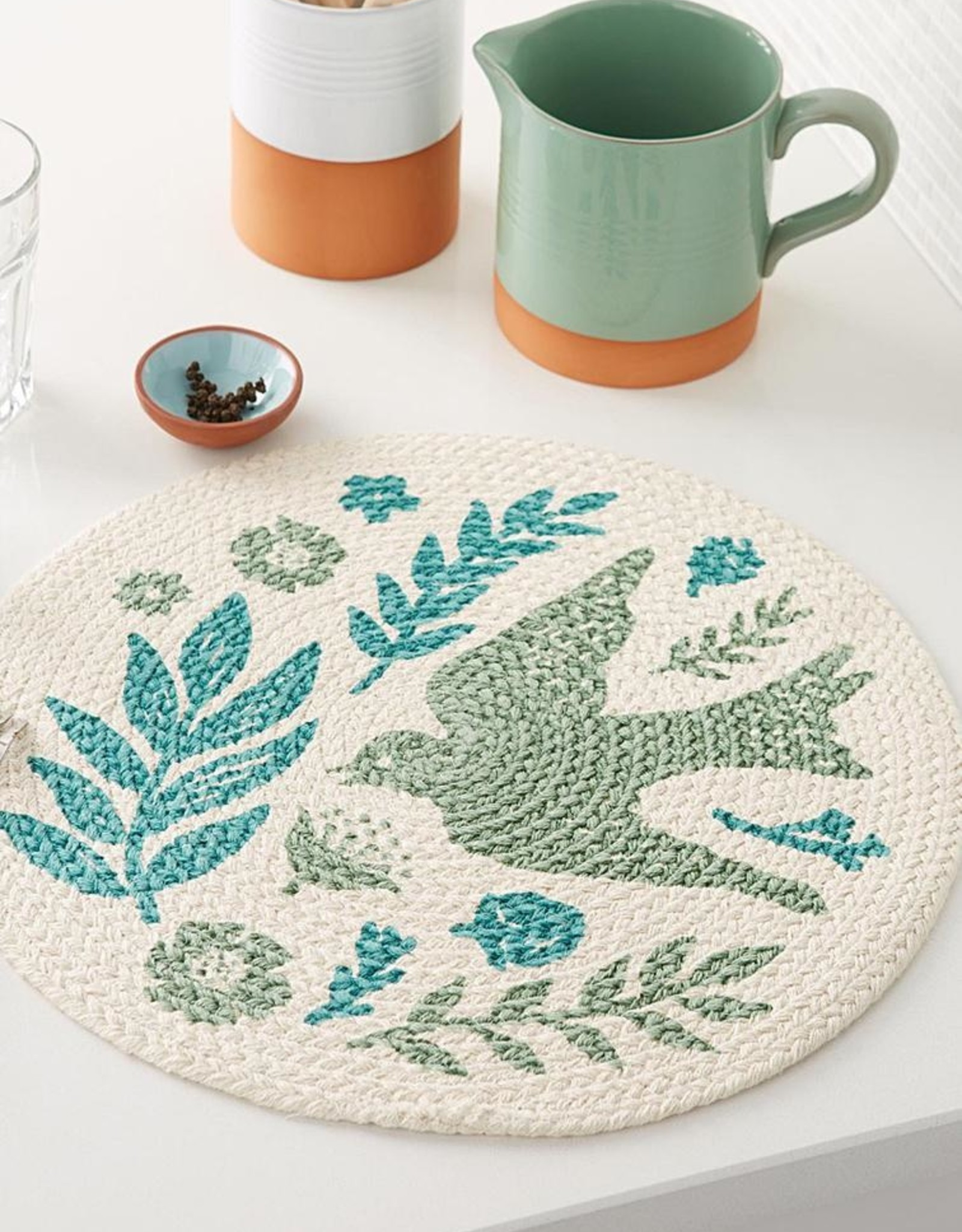 Meadowlark Braided Placemat