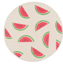 Watermelon Braided Placemat