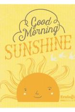 Good Morning Sun Swedish Dishcloth