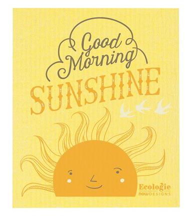 Good Morning Sun Swedish Dishcloth The Collective Good
