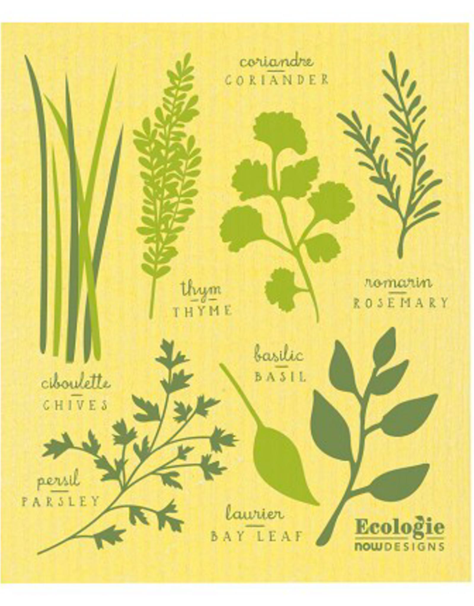 Les Fines Herbs Swedish Dishcloth