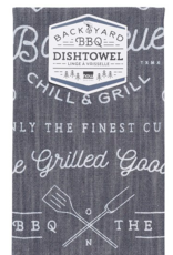 Backyard Barbecue Dishtowel