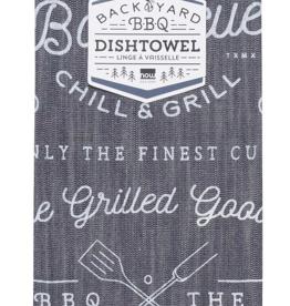Backyard Barbecue Dishtowel