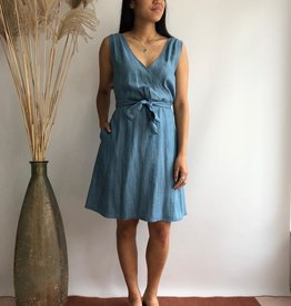 Chung Dress Blue Tencel