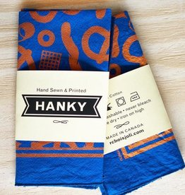 Party Mix Hankie Hand Printed