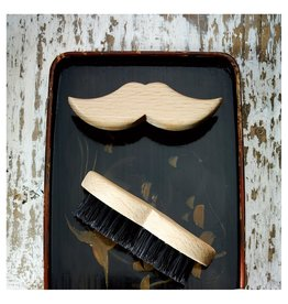Beard-Moustache Brush