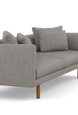 "Floor Model - Replay Sofa 91"" Lana Light Grey"