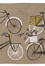 Bicletta Linen Cosmetic Bag - Large