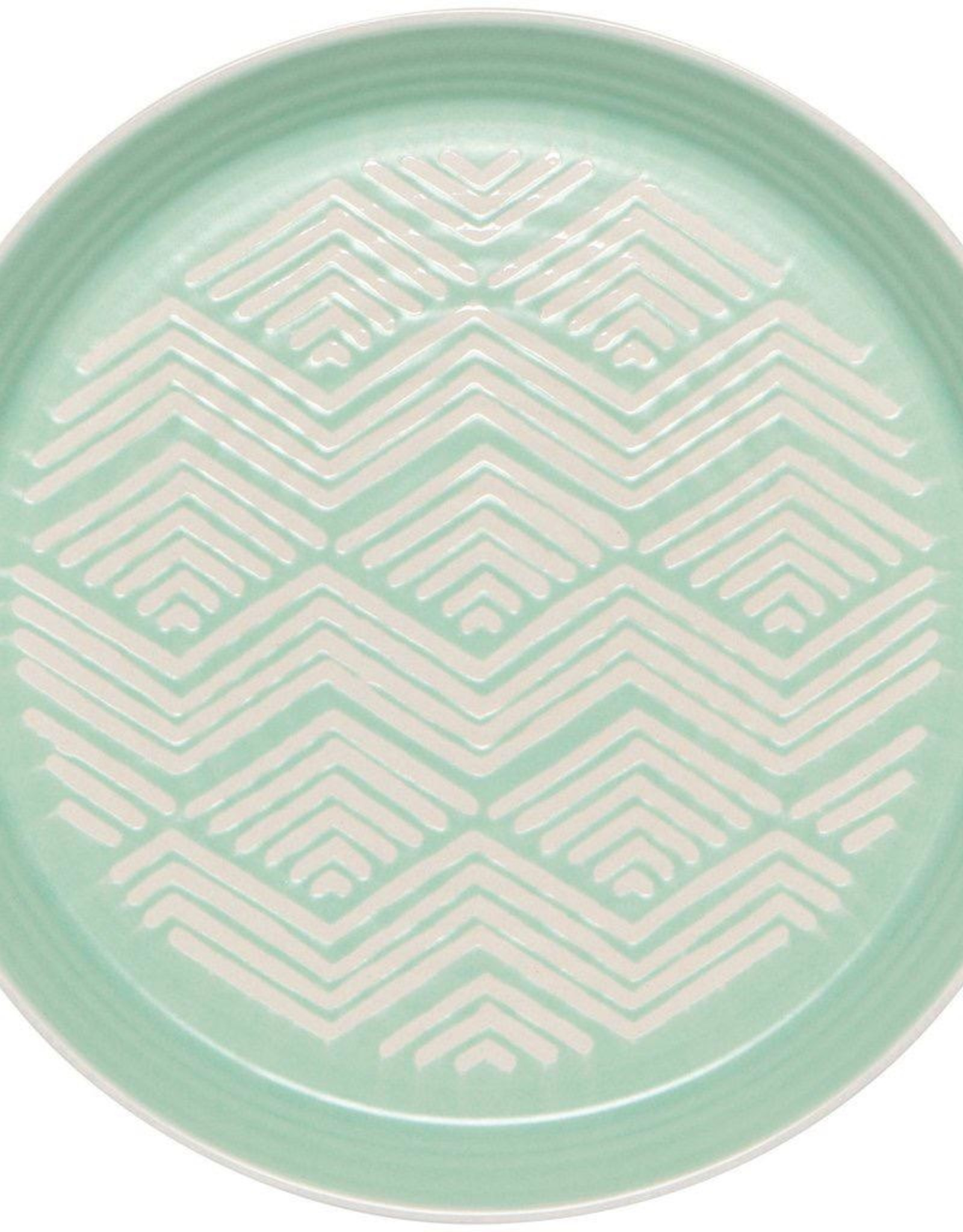 Imprint Side Plate - Mint