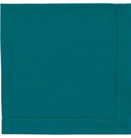 Hemstitch Napkin - Peacock Single
