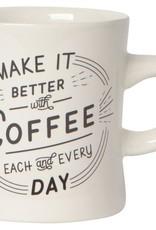 Better With Coffee Mug