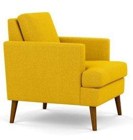 Melody Chair, Herringbone Sun - Floor Model