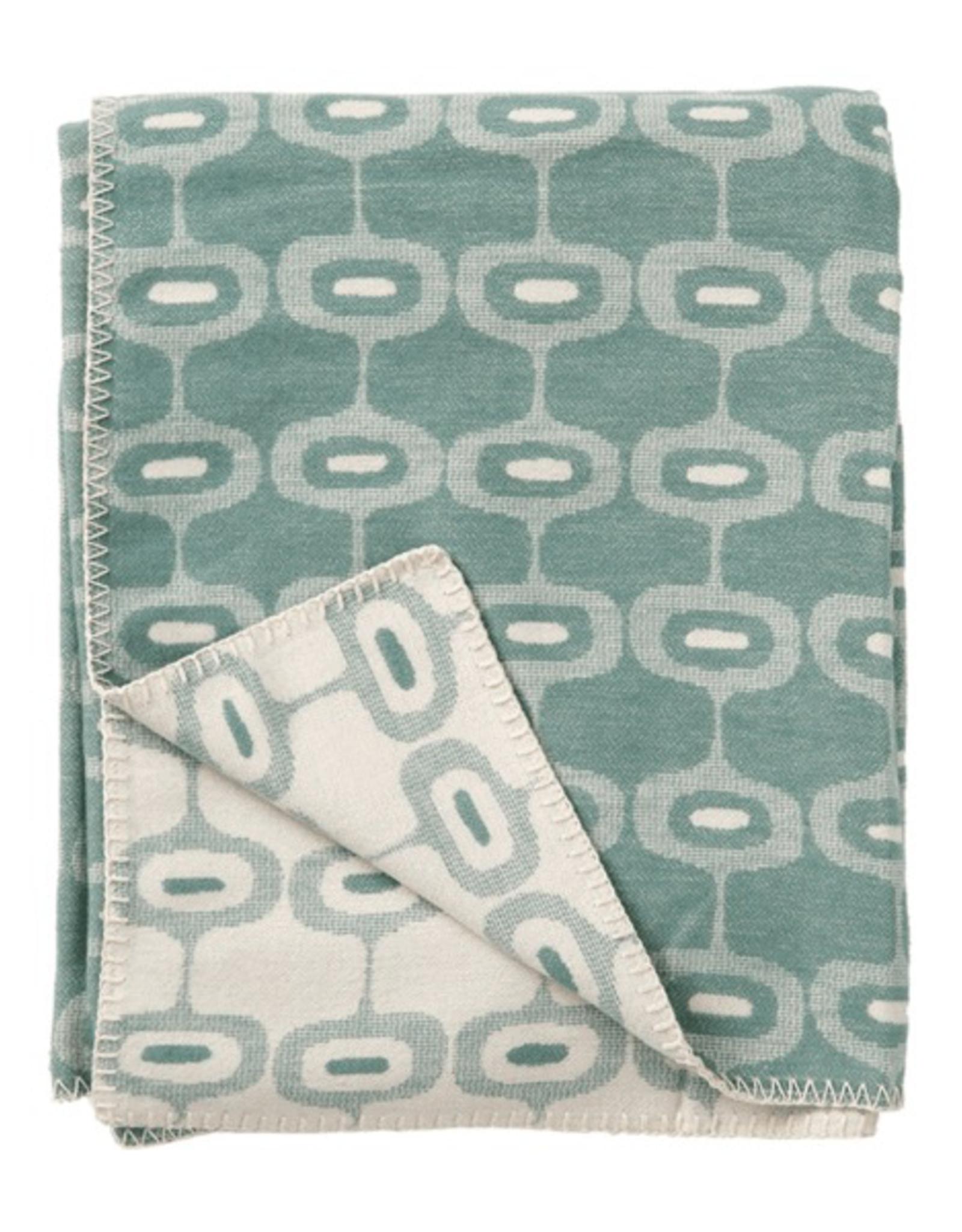 Doris Blanket Emerald - 100% Brushed Cotton