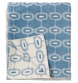 Doris Blanket Petrol - 100% Brushed Cotton