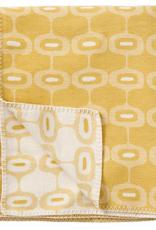 Doris Blanket Yellow - 100% Brushed Cotton