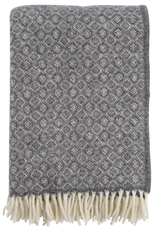Havanna Throw Grey - 100% Lamb's Wool