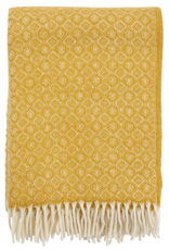 Havanna Throw Yellow - 100% Lambs Wool