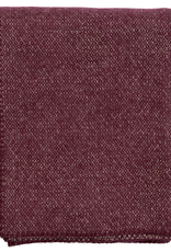 Peak Throw Bordeaux - Brushed Merino + Lambs Wool