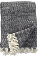 Hekla Throw Dark Grey - 100% Eco Lambs Wool