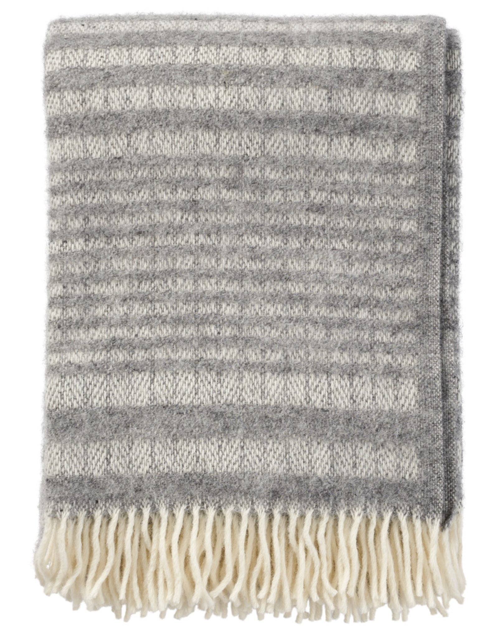Roy Throw Grey - 100% Eco Lambs Wool