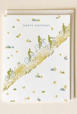 Letterpress Birthday Trail