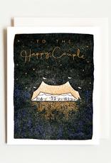 Wedding Tent Letterpress Card