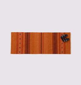 Atlas Hallway Runner Orange 100% Wool