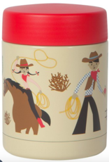 Rootin Tootin' Stainless Steel Food Thermos