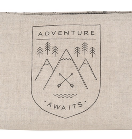 Cosmetic Bag Large - Adventure Awaits