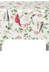 Winter Birds Tablecloth 60x120