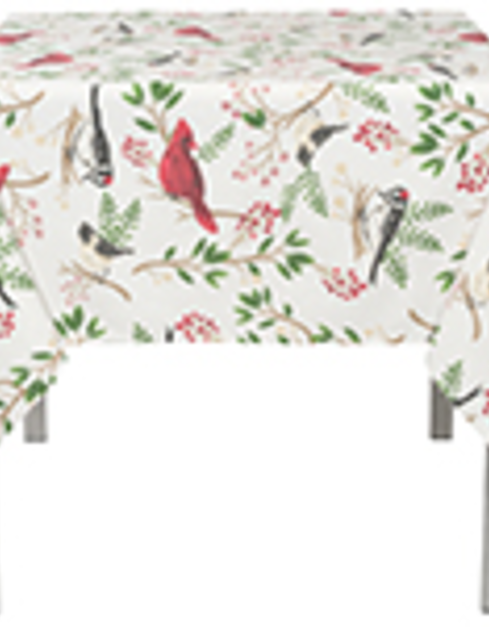 Winter Birds Tablecloth - 60x90