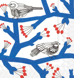 Marimekko Paper Napkins Blue Birds
