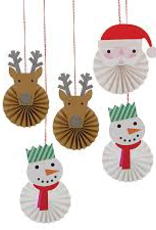Be Jolly Hanging Decoration Set
