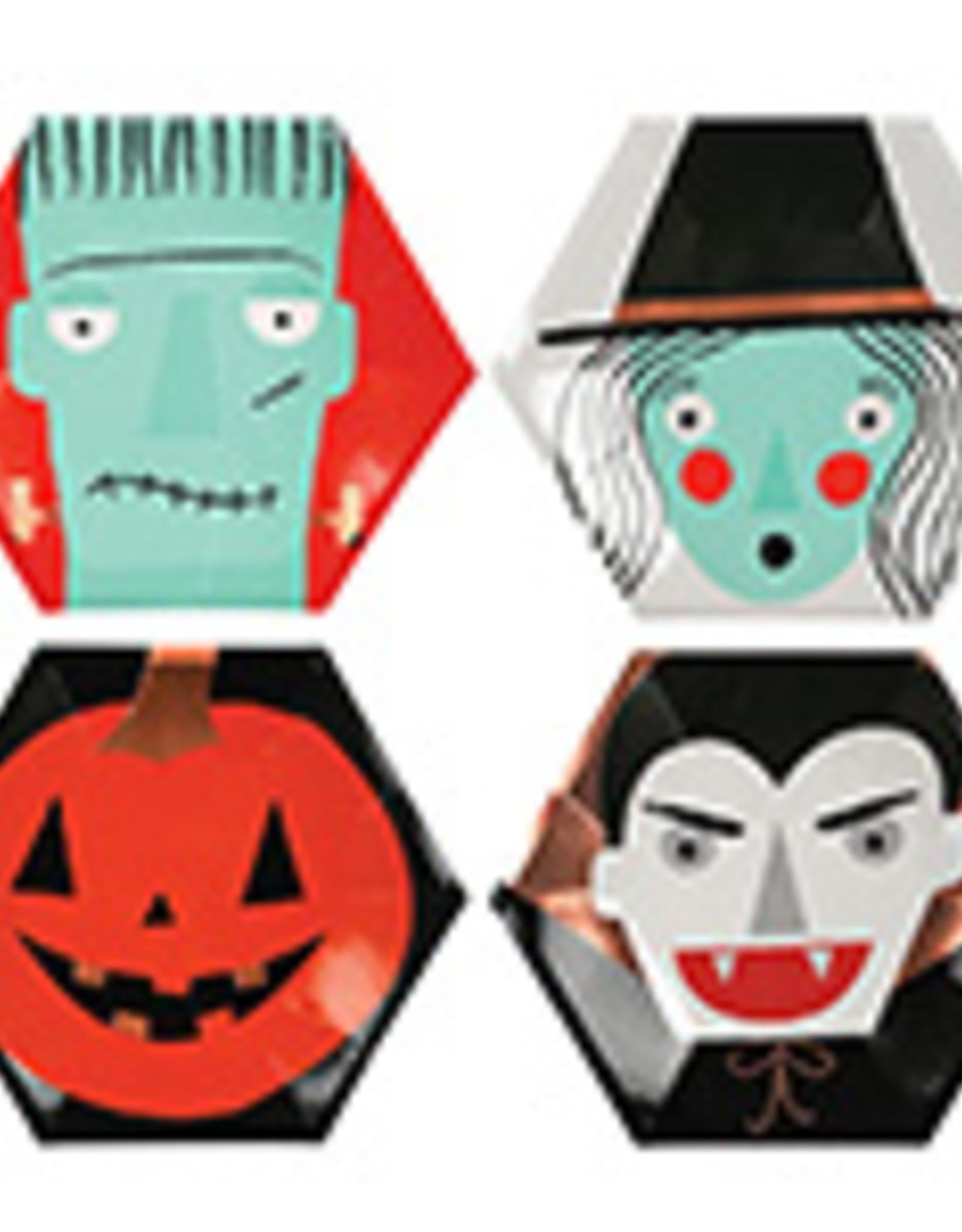 Halloween Paper Plate Set