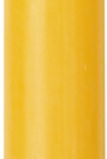Modern Dinner Candle, Yellow