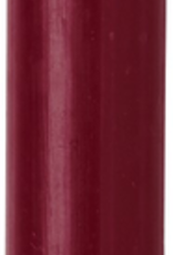 Modern Dinner Candle, Red Plum