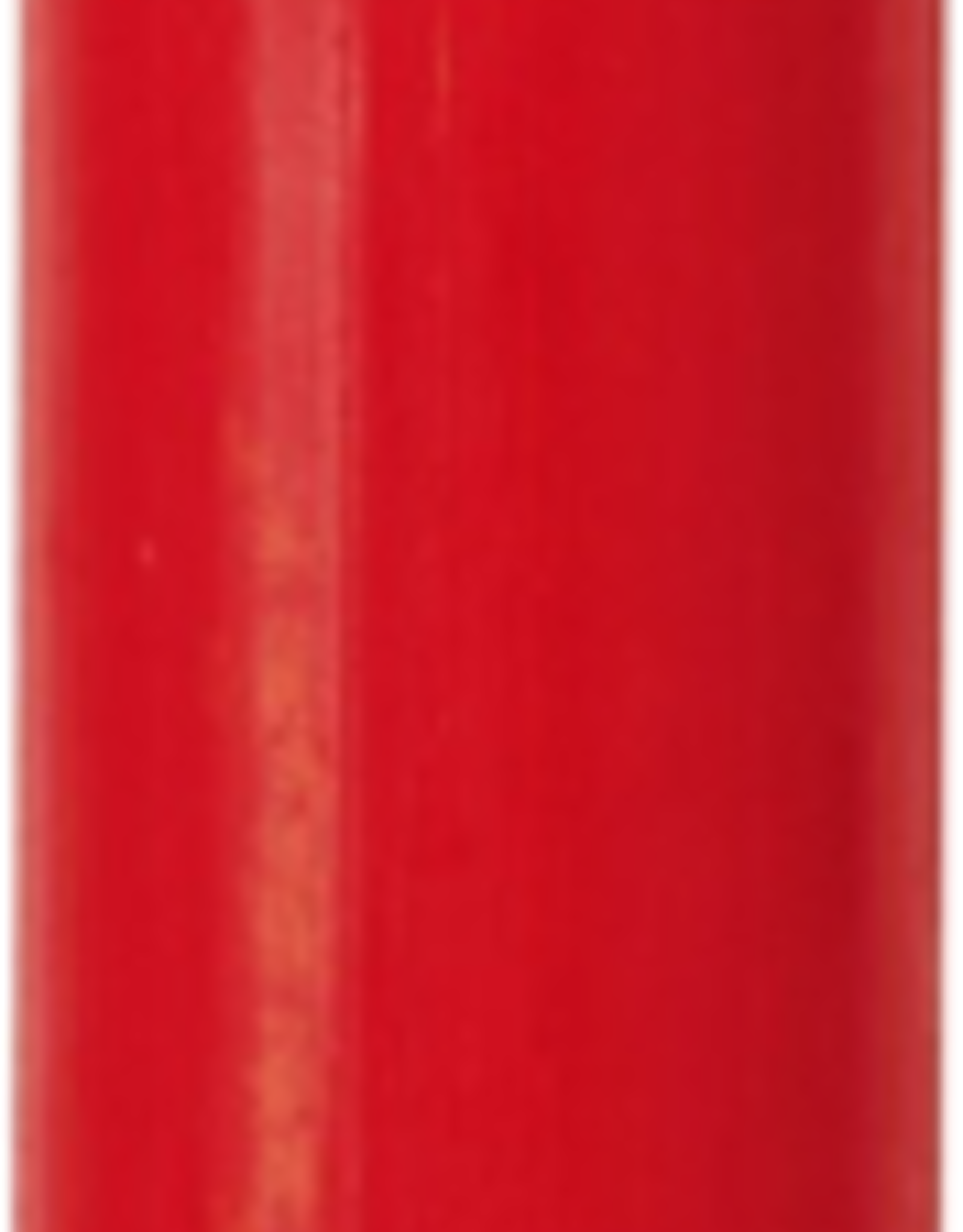 Modern Dinner Candle, Bright Red
