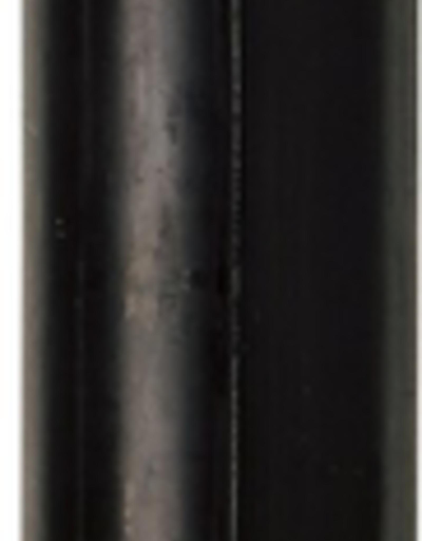 Modern Dinner Candle, Black