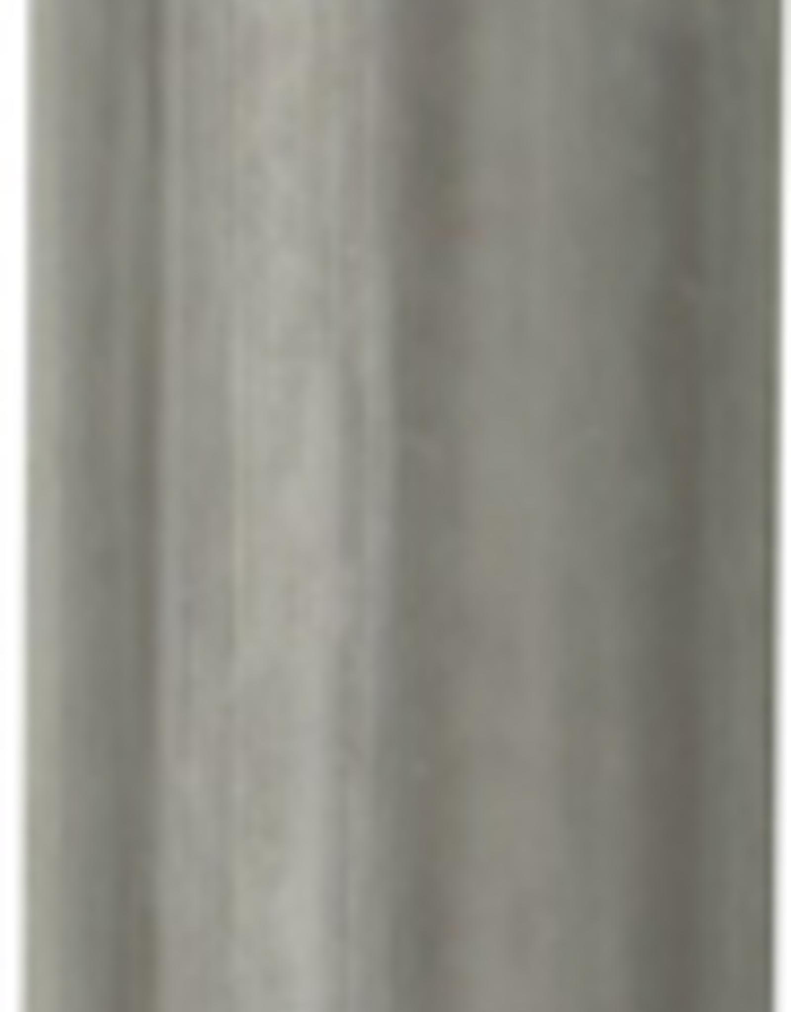 Modern Dinner Candle, Grey
